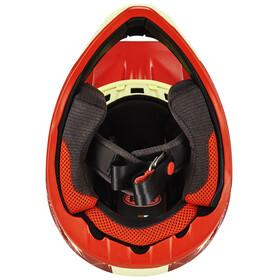 Bell Transfer-9 Cykelhjälm gul/röd